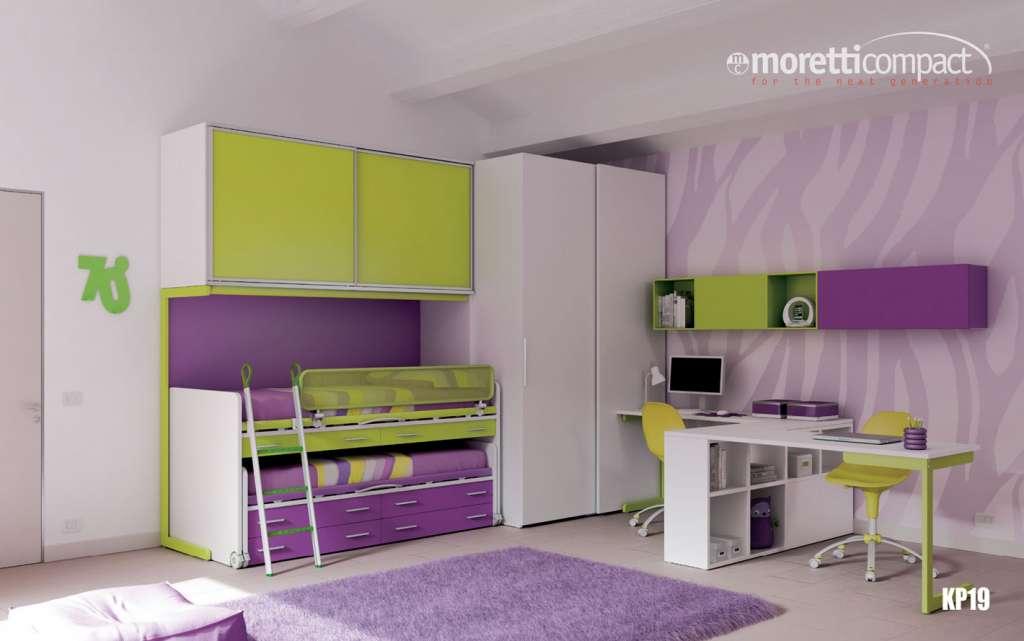 Camere Per Ragazzi Moretti : Camerette arredamenti garagnani